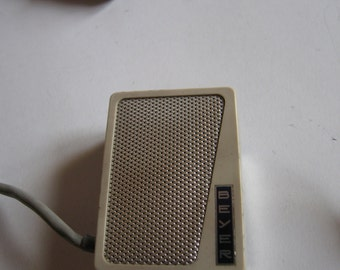 vintage 60's Beyer M51 TR microphone made in W. Germany