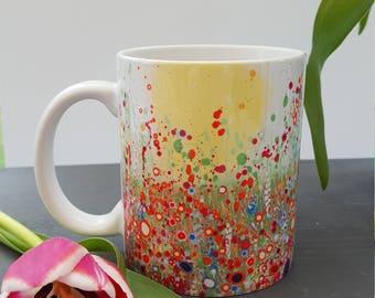 Morning Haze Art Print Ceramic Mug