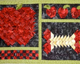 PATTERN - Apple in 3-D Patchwork by Jackie's Animas Quilts