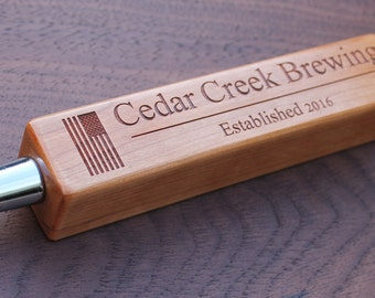 10 Custom Cherry Beer Tap Handles