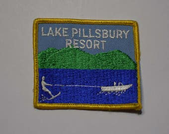 Vintage Lake Pillsbury Resort Patch