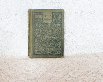 Macmillan's Pocket Classics 1913,  Select Orations, Antiquarian Book, Vintage Book, American and English Classics