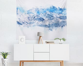 Scenic Tapestry | Mountain Wall Tapestry | Scenic Wall Décor | Mountain Wall Hanging | Scenic Wall Art | Mountain Tapestry