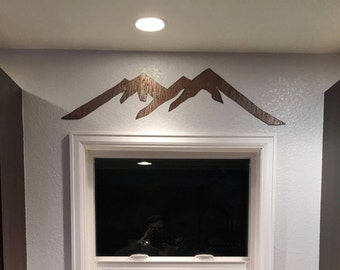 Steamboat Mountain Range / Ski Lodge Decor / Snowboarding art / Adventure Awaits / Housewarming Gift / Kitchen Wall Hanging Master bedroom