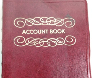 Account Book For Home Or Office/Manufactured For F.W.Woolworth Co./Book Not Used (K)