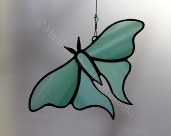 Stained Glass Luna Moth - Pale Green Luna Moth
