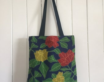 The Zoe Small Upcycled Handmade Tote Bag