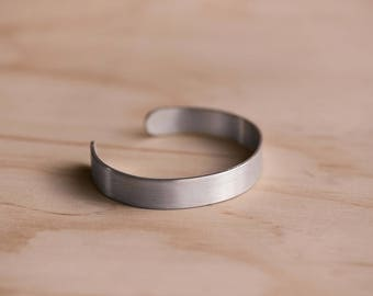 925 Sterling Silver Cuff/Bracelet with a Brushed Finish