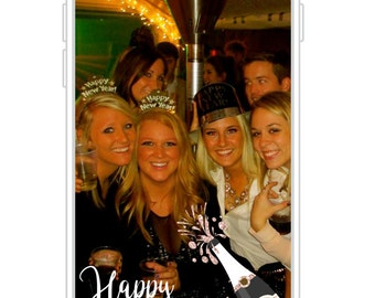 Happy New Year Snapchat Filter | New Years Eve Party Snapchat GeoFilter | Holiday Party Snapchat GeoFilter