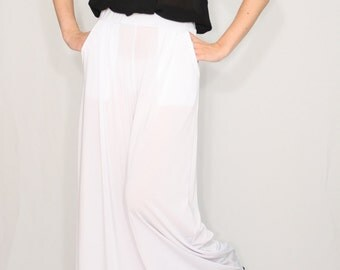 Items similar to Elegant pants / Women trousers /high waist ...