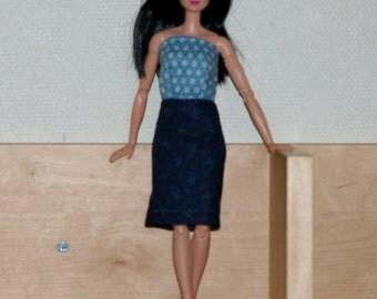 Dress Barbie- handmade dress -