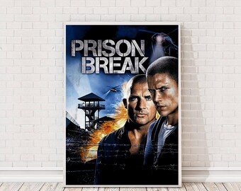Prison Break Poster Art Film TV Poster Classic Movie Poster