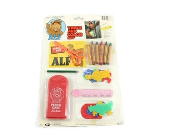 1987 ALF Trace and Color Set Vintage