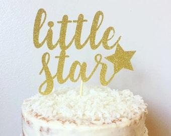 Twinkle Twinkle Little Star Cake Topper, Star Cake Topper, Birthday Cake Topper, Baby Shower Cake Topper, First Birthday Cake Topper,