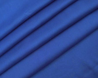 """Royal Blue Fabric, Dress Material, Decorative Fabric, Apparel Fabric, Sewing Crafts, 43"""" Inch Rayon Fabric By The Yard ZBR253B"""