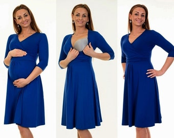 3-in-1 maternity clothes maternity dress still dress maternity wear