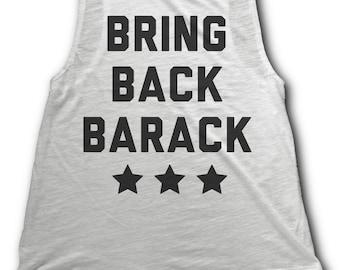 Bring Back Barack Women's Tank Top - I Miss Barack Obama - Obama womens shirt