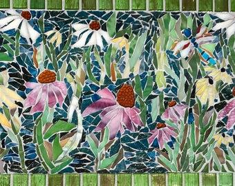 The Prairie Garden: Stained Glass Mosaic Art