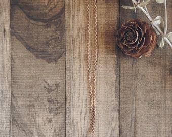 Pinecone Necklace | #36