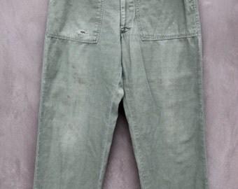 vintage amazing soft military army pants sz 32