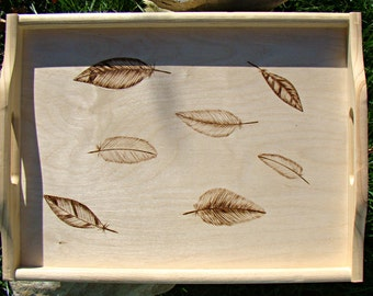 made to order wooden tray feathers bed tray bed table