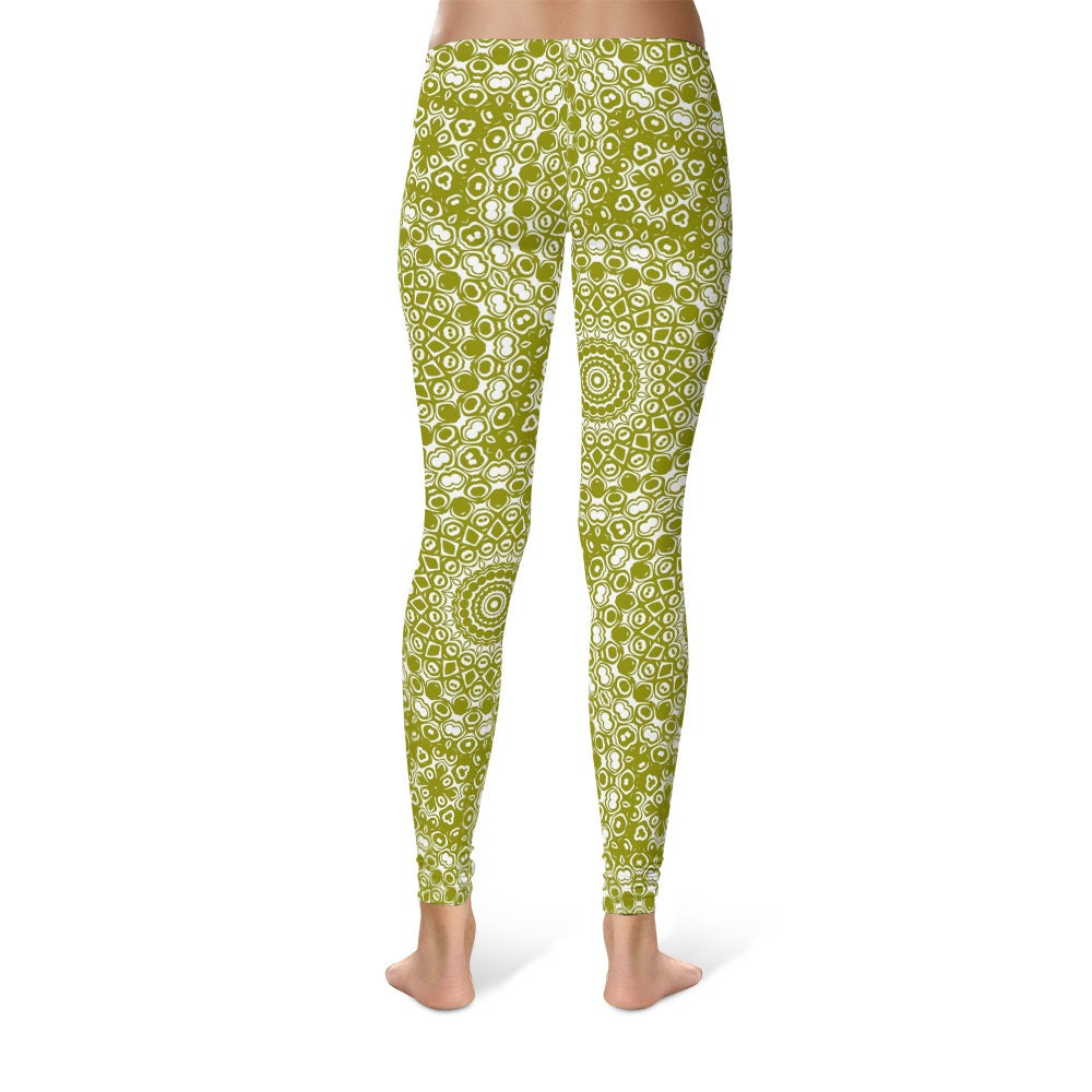 Bright colored yoga pants-3865