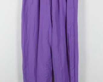 Vintage trousers, 90s sportswear, light purple, 90s clothing, vintage sportswear