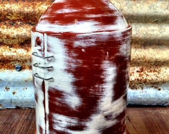 Handmade Ceramic Silo Jar