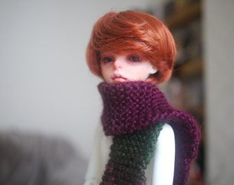 Hand-knitted BJD Fade Scarves - MSD 1/4 size - Choose from colours - MTO