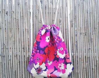 Waterproof fabric bag backpack