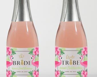 Mini Wine Labels//Bachelorette Party//Favors