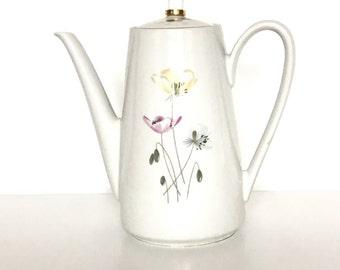 Vintage Teapot Kahla Könitz // Porcelain Teapot // Made in Germany