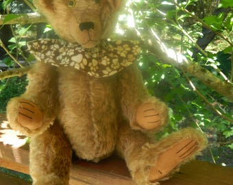 Hand made mohair bears - Eli, Elliot, and Evanne