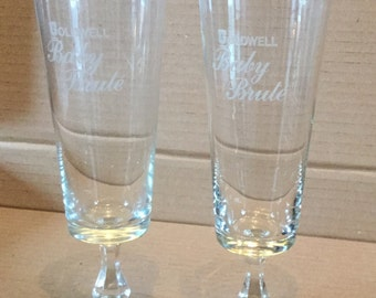 Vintage Goodwell Baby Brute Glasses