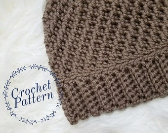 Crochet Pattern // Luriel Beanie// Tutorial