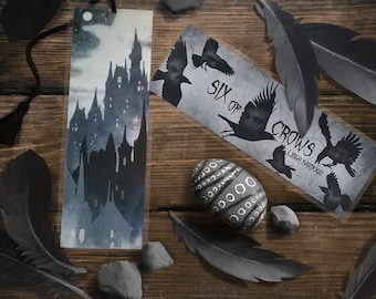 Six of Crows Bookmark - Handmade