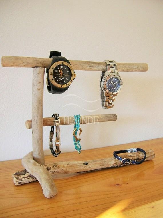 Porta bracciali gioielli orologi collane legno espositore - Porta collane da armadio ...