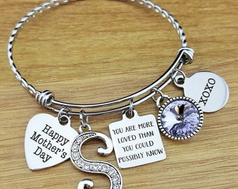 Mothers Day Gift Mothers Day from Daughter Mothers Day from Son Bracelet for Mom Mom Bracelet Mom Jewelry Mom Gifts Gift for Mom