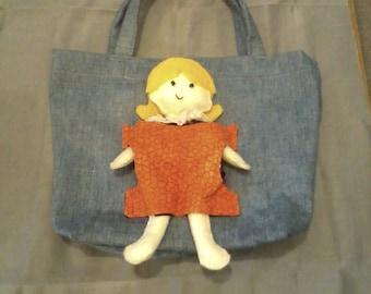 Pocket Doll Child's Tote