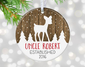 New Uncle Gift Uncle To Be Gift Uncle Pregnancy Reveal Ornament Uncle Baby Reveal To Uncle Baby Announcement To Uncle Going To Be Uncle