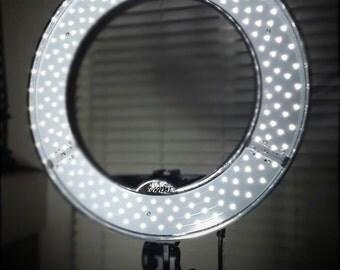 Diva ring light LED ring light Halo light Makeup artist photography video lighting light  Super Bright video Photography More Halo Circular