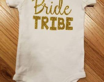 Bride Tribe Onesie - Short Sleeved CARTER'S Onesie