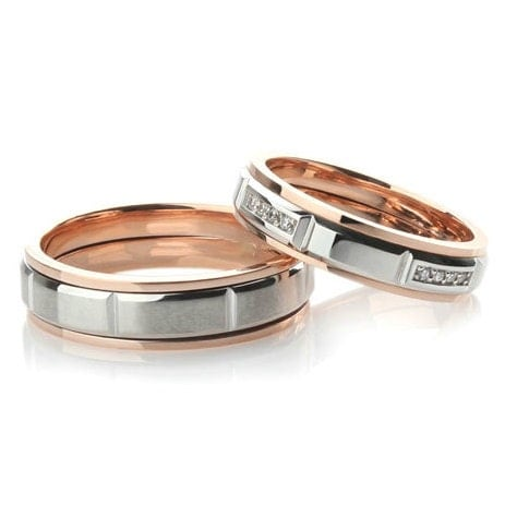 wedding bands his and hers matching wedding bands unique
