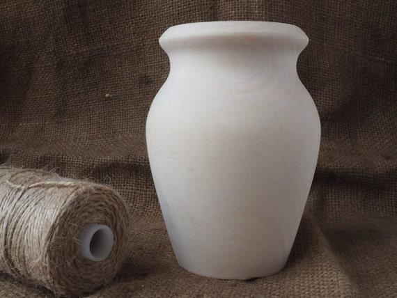 Wood vase vessel chip carving basswood blanks