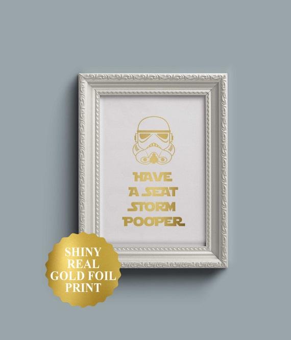 star wars bathroom storm trooper decor funny bathroom sign. Black Bedroom Furniture Sets. Home Design Ideas
