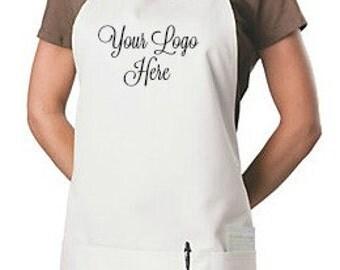 Logo 3 pocket Apron, custom apron,Personalized Apron  Custom Embroidered Apron Company logo Custom logo Custom Embroidered Apron