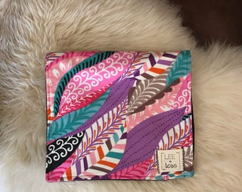 Feather Burp Cloths