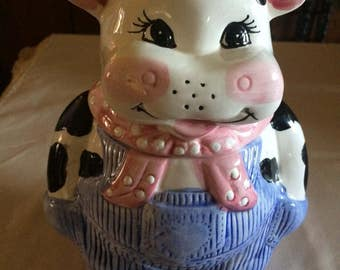 Vintage Retro Treasure Craft Bossy Cow Cookie Jar. Art and Collectibles, Home and Living, Kitchen and serving, Kitchen and dining,