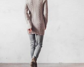Knitted sweater soft pearl gray sweater ashen вязаная кофта, серый свитер вязаный свитер жемчужный