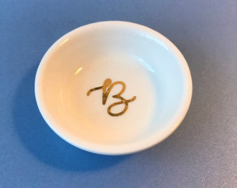 Personalised Ring dish, trinket dish, jewelry dish